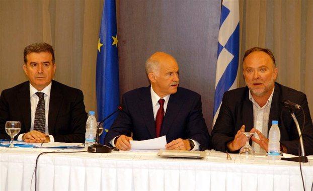 Γ. Παπανδρέου: «Η Ευρώπη αποφάσισε να βγάλει τη θηλιά από το λαιμό μας»