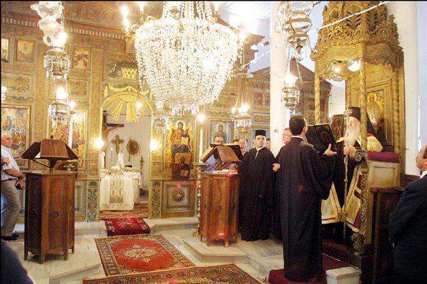 Στ. Λαμπρινίδης: εξέφρασε τη συμπαράστασή του στο Φανάρι