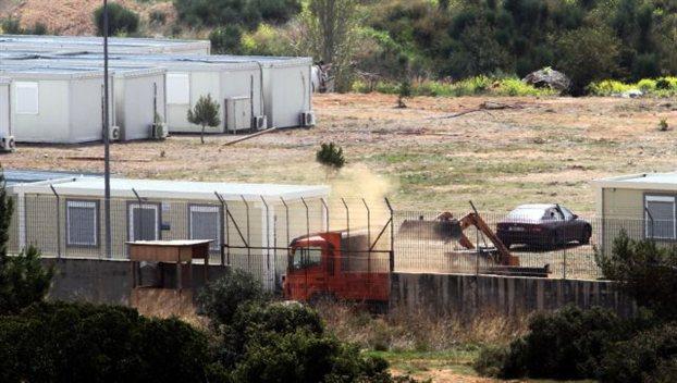 Δίπλα σε αποθήκες οπλισμού της ΕΛΑΣ το κέντρο της Αμυγδαλέζας