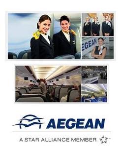 Aegean: Καλύτερη περιφερειακή αεροπορική εταιρία στην Ευρώπη