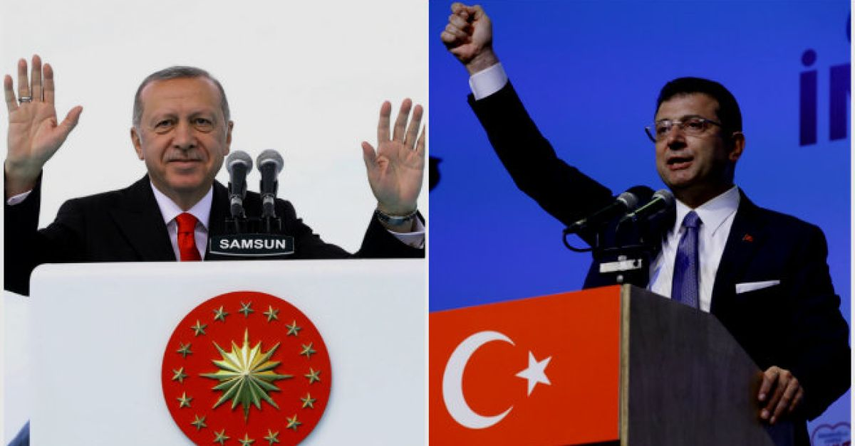 Ιμάμογλου εναντίον Ερντογάν για την Αγία Σοφία