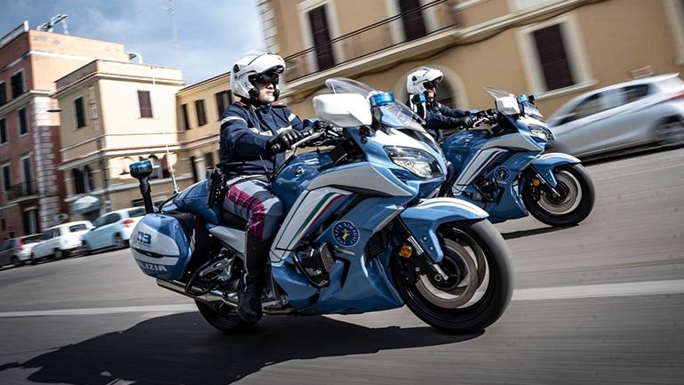 Yamaha FJR1300AE: Η επιλογή της Ιταλικής Αστυνομίας!
